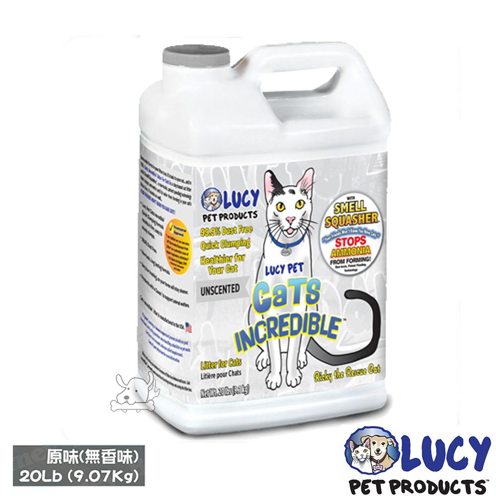 LUCY 美國原裝 魔力貓砂 系列 桶裝 20磅(9.1kg) X 1桶