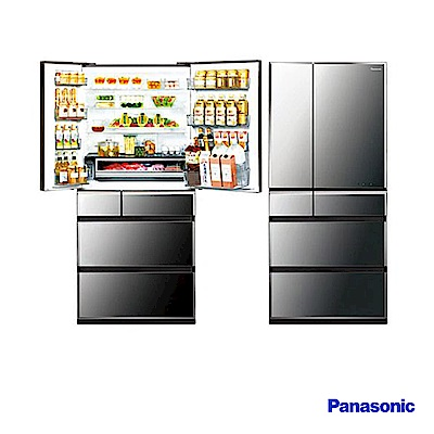 Panasonic 國際牌 675L日製六門 變頻電冰箱 NR-F681WX-X1