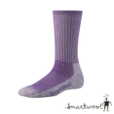 【 美國 SmartWool 】美國製造 女 健行薄羊毛襪.戶外襪(2入)_紫