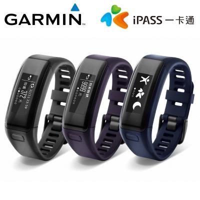 GARMIN vivosmart HR iPass (一卡通)  腕式心率智慧手環