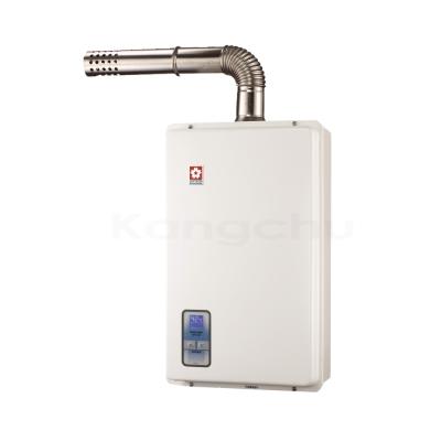 櫻花牌-SH-1333-數位恆溫13L強制排氣熱水