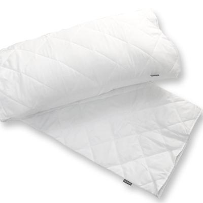 義大利La Belle 純白素雅 信封式防潑水保潔枕套--2入