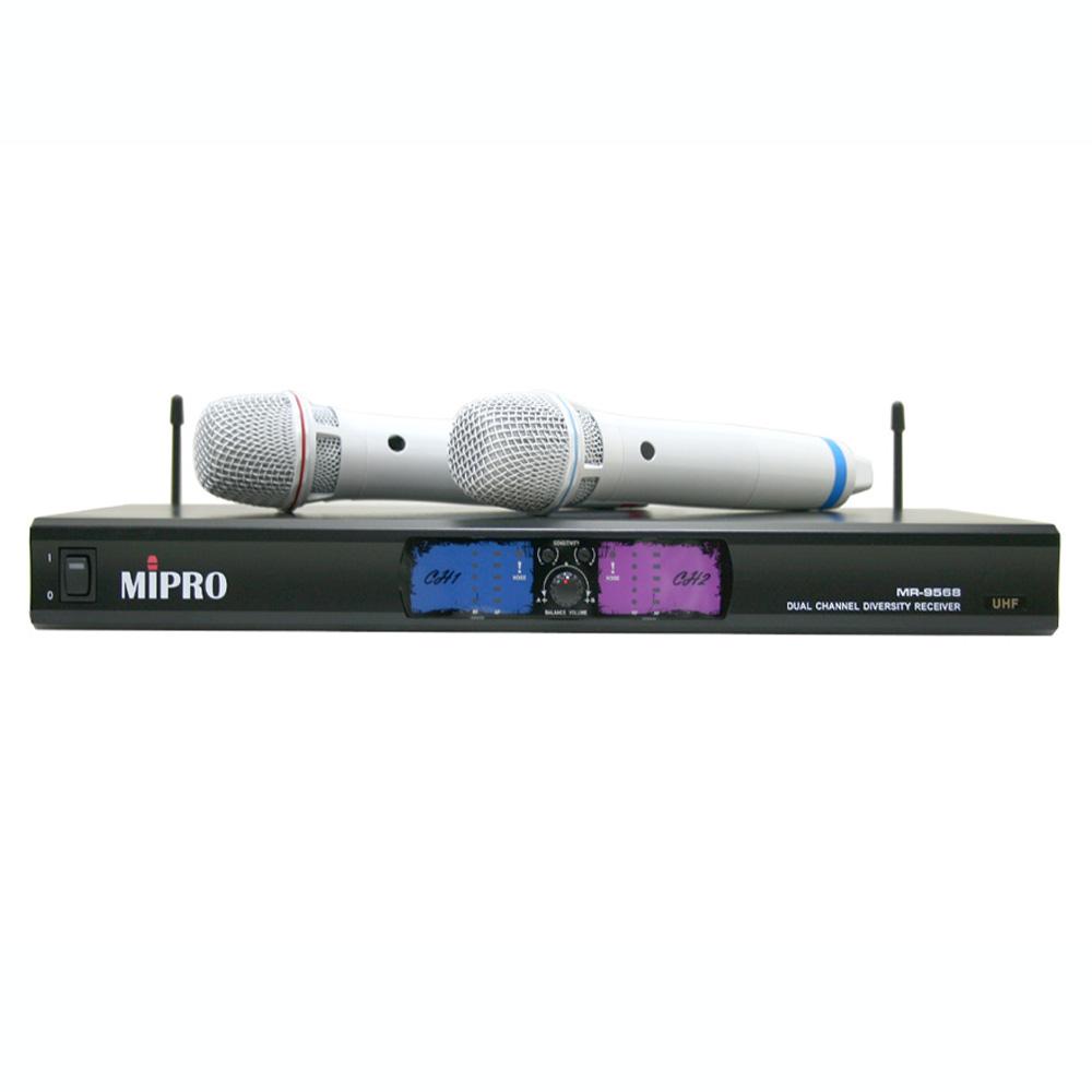MiPRO MR-9568PRO UHF無線麥克風