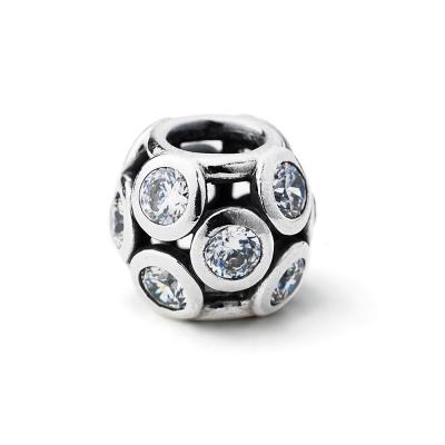Pandora 潘朵拉 多個小鋯石純銀墜-透明