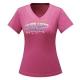 【ATUNAS 歐都納】ATUNAS-TEX吸溼排汗女短T恤A-T1705W玫紅 product thumbnail 1