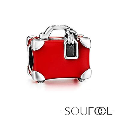 SOUFEEL索菲爾 925純銀珠飾 去旅行 串珠