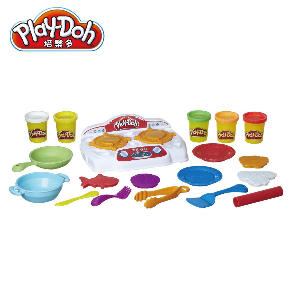 【play-doh培樂多】培樂多廚房系列 吱吱火爐料理組