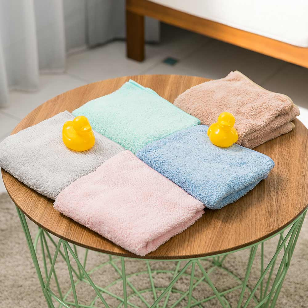 Lovel 頂極輕柔棉超細纖維抗菌毛巾(共5色)