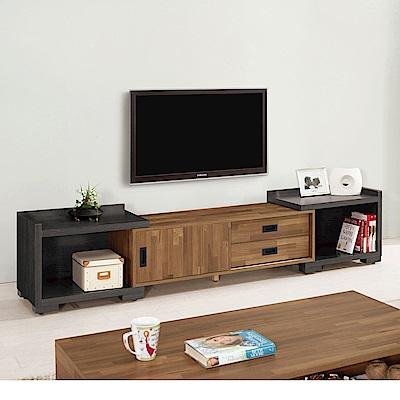 Bernice-布羅4尺伸縮電視櫃/長櫃(兩色可選)-120~200x40x44cm