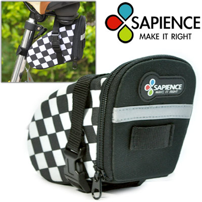【SAPIENCE】F1格紋快拆式長形座墊包