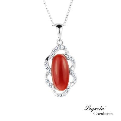 大東山珠寶 天然阿卡珊瑚項鍊墬飾6014124010