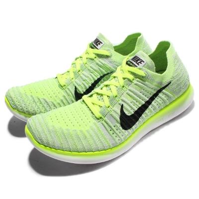 Nike 慢跑鞋 Free RN Flyknit 男鞋
