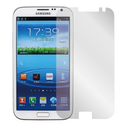 ZIYA Samsung Galaxy Note 2 N7100抗刮亮面螢幕保護貼2入