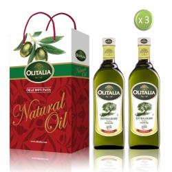 Olitalia奧利塔 精製橄欖油家庭料理組(1000mlx6瓶)