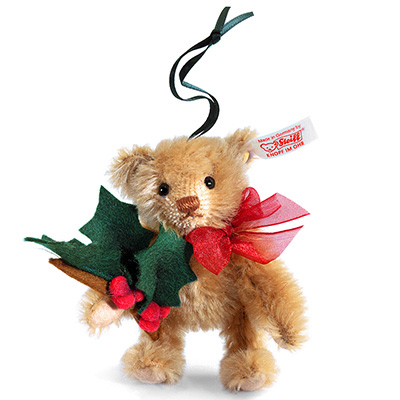 STEIFF德國金耳釦泰迪熊 -  Teddy Bear Ornament(10cm)