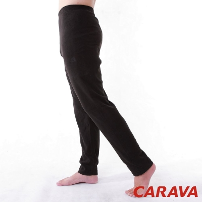 CARAVA《保暖刷毛褲》(黑)