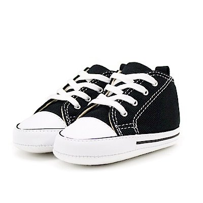 CONVERSE-First Star Crib嬰兒鞋-黑