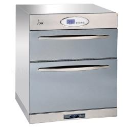 和成HCG 雙層抽屜不鏽鋼外殼臭氧型下崁式烘碗機60cm(BS602)