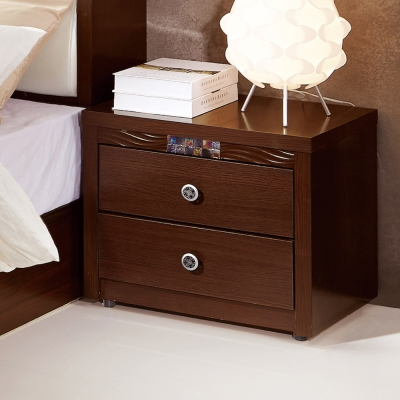Boden-羅克莎1.7尺胡桃色床頭櫃-52x40x46cm