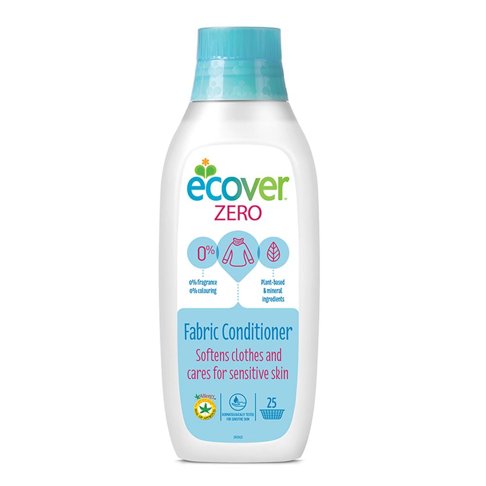ECOVER宜珂 天然無添加親膚低敏柔軟精-ZERO 750ml