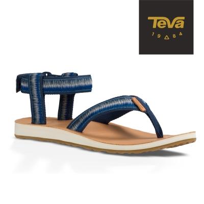 TEVA 美國-女 Original Sandal 經典緹花涼鞋 (漸層藍)