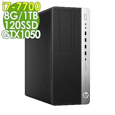 HP 800G3 i7-7700/8G/1TB+120SSD/GTX1050/W10P
