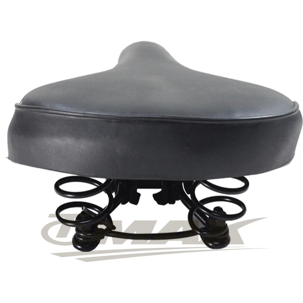 OMAX自行車彈簧坐墊-1入