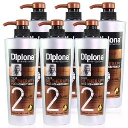 德國Diplona 專業級摩洛哥堅果油潤髮乳600ml(買五送一超值組)