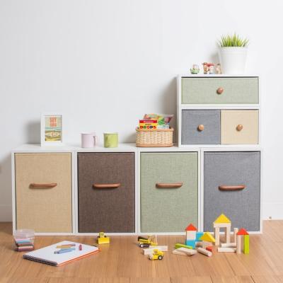 [自然樂居]品田日居 時尚儲物櫃六件組