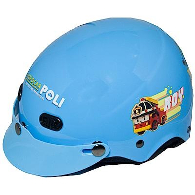 波力救援小英雄POLI兒童安全帽(雪帽)