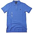 Ralph Lauren 短袖 POLO 素面 小孩 藍 0746
