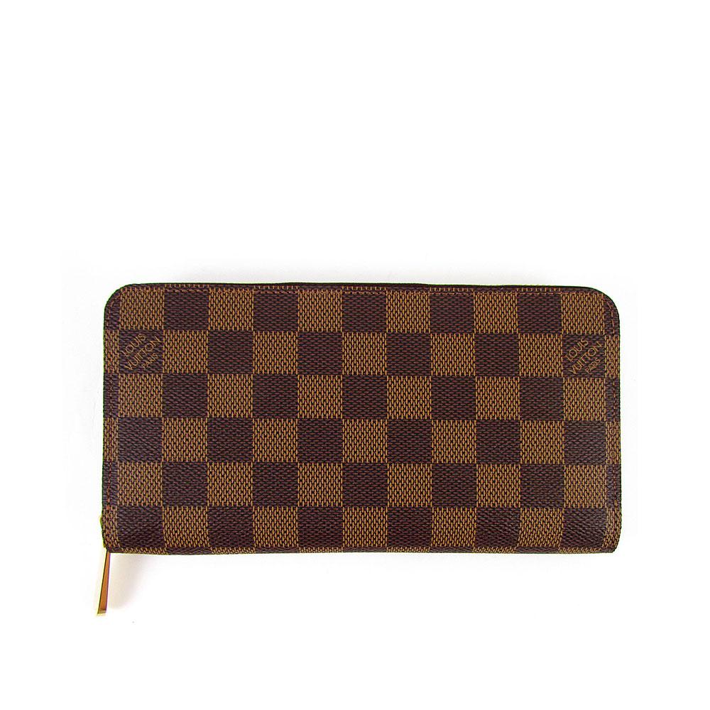 LV N60015 Damier LV棋盤格紋拉鍊長夾