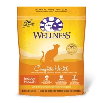 WELLNESS全方位系列-室內貓田園均衡食譜6磅