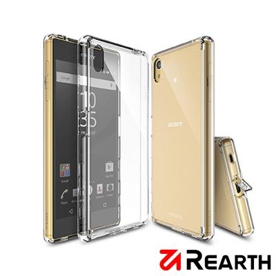 Rearth Sony Xperia Z5 高質感透明保護殼(贈送保護貼)