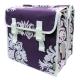 hilltop山頂鳥-BASIL-紫色花紋單車馬鞍
