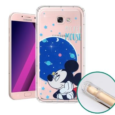 迪士尼正版 Samsung Galaxy A7(2017) 空壓安全手機殼(米奇...