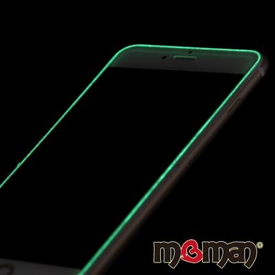 Mgman iPhone6/6s Plus(5.5)夜光2.5D滿版螢幕玻璃保護...