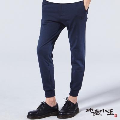 地藏小王-BLUE-WAY-變色龍牛津螺紋西裝褲