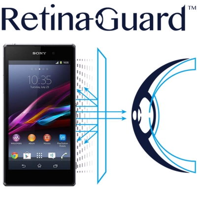 RetinaGuard 視網盾 Sony Xperia Z1 眼睛防護 防藍光保護膜