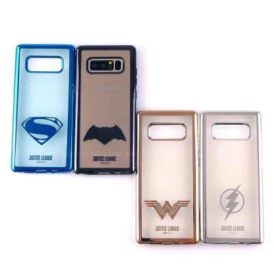 DC正義聯盟Samsung Galaxy Note8時尚質感電鍍保護套