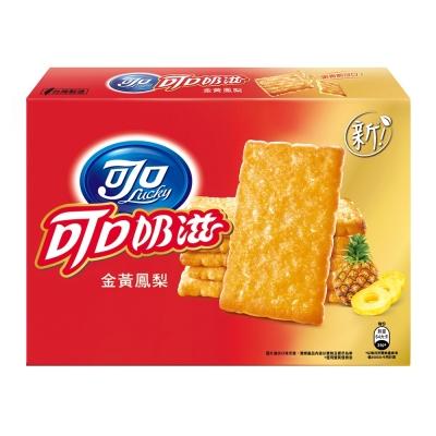 可口奶滋 金黃鳳梨口味量販包(112.5gx2入)