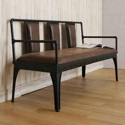 微量元素 手感工業風美式三人沙發