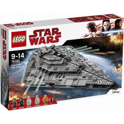 樂高LEGO 星際大戰系列 First Order Star Destr LT75190