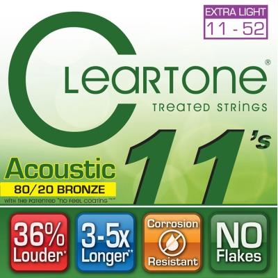 CLEARTONE 7611 民謠吉他套弦 11-52