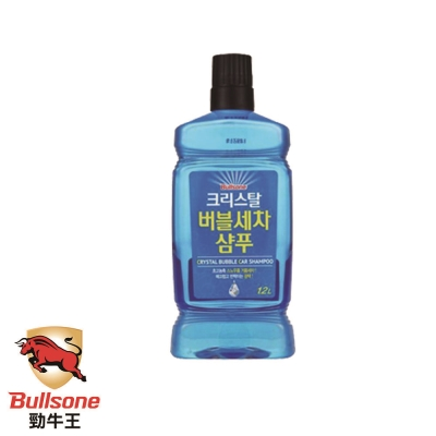 Bullsone-藍水晶泡沫超濃縮洗車精(1:266)