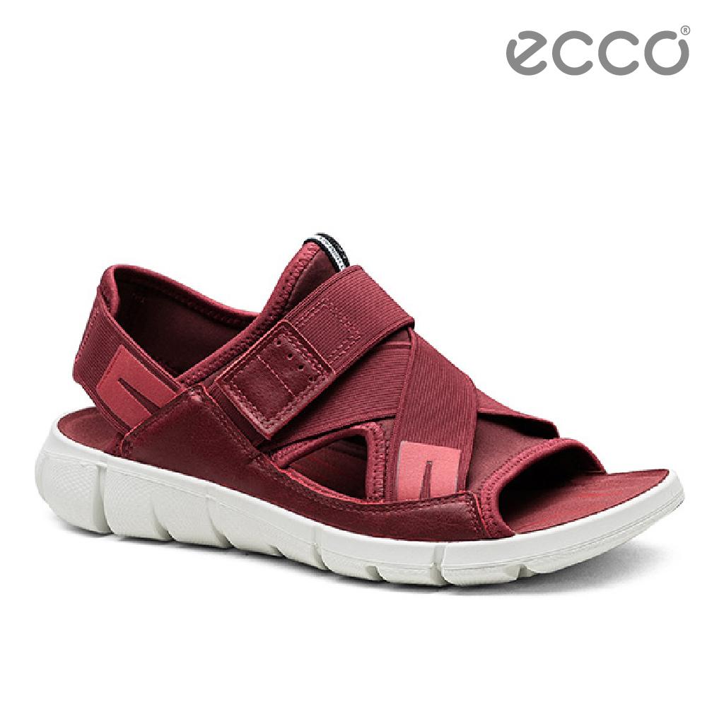 ECCO INTRINSIC SANDAL 時尚酷感運動涼鞋-紅
