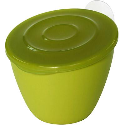 Sceltevie 吸盤廚餘桶(綠)