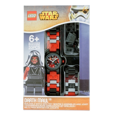 樂高積木 LEGO 兒童手錶 - 星際大戰 達斯魔