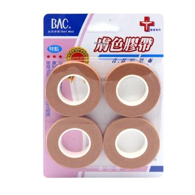 喬領BAC倍爾康 透氣膠帶(未滅菌)x4入-膚色