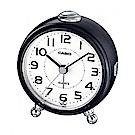 CASIO 經典輕巧桌上型指針鬧鐘-黑(TQ-149-1)